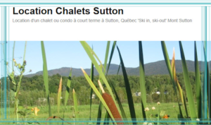 Location Chalets Sutton